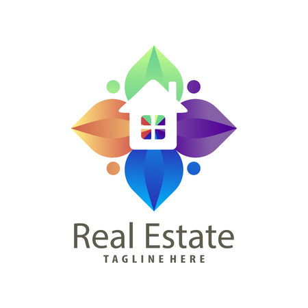 Real estate building construction logo and icon suitable for your business company and personal branding