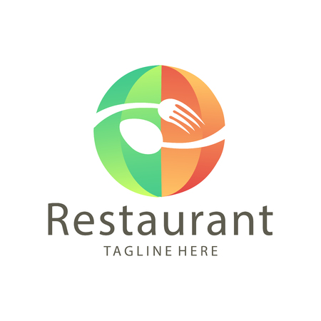 Elegant restaurant food and drink logo design suitable for your business, company and personal branding Logo