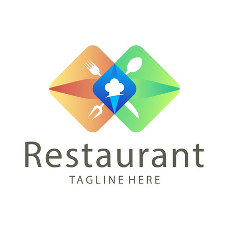 Elegant restaurant food and drink logo design suitable for your business, company and personal branding