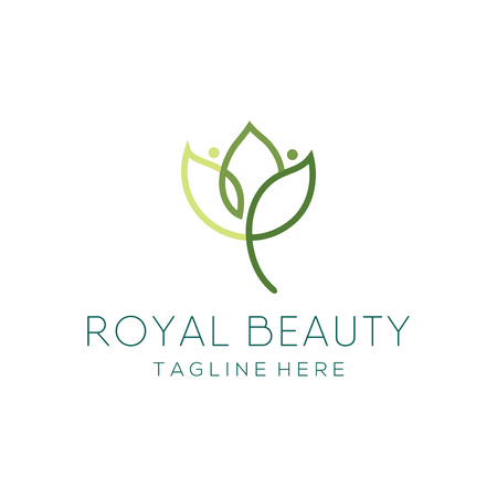 Beauty and fashion logo design and icon suitable for you business, company and personal branding