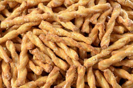 a pile of pretzel style cookie Reklamní fotografie
