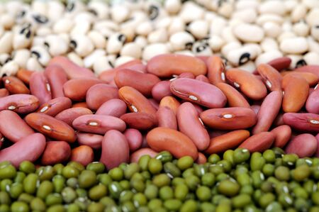 mix bean for background uses Foto de archivo - 133511776