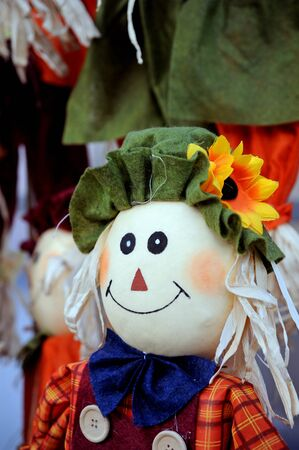 gosh scarecrow in decoration