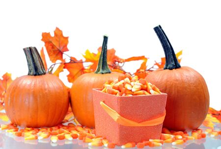 Halloween decoration on table