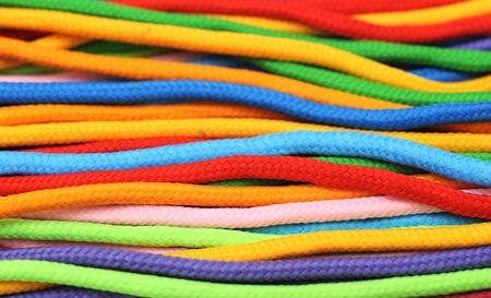 multicolor linen rope for background uses