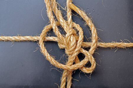rope tied together for background uses