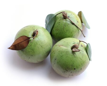 very sweet  green color star apple fruit