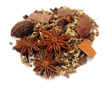 mix of spice Cinnamon And Star Anise