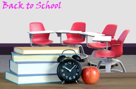 empty classroom for back to school concept of education Banque d'images - 137146165