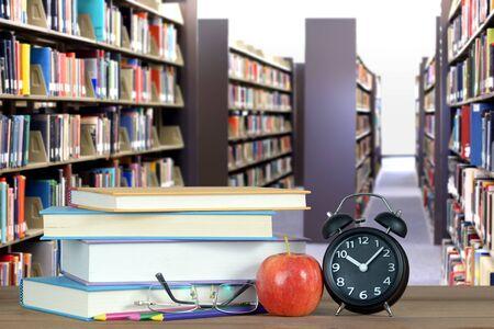 an education concept composition with blur background Banque d'images - 137134661