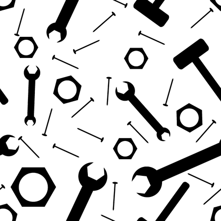 Abstract background from tools (seamless)