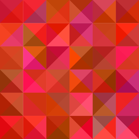 Seamless abstract modern geometric red background illustration