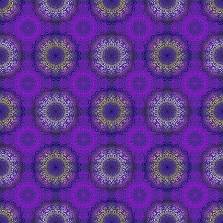 fabric patterns: seamless blue ornament background and geometric pattern