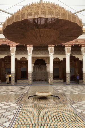 View inside Dar Si Said museum, Marrakesh, Morocco photo