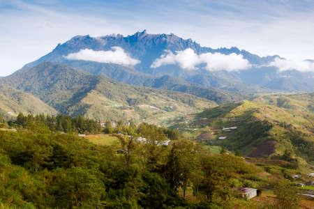sabah: Mountain kinabalu, Sabah, Borneo, Malaysia Stock Photo