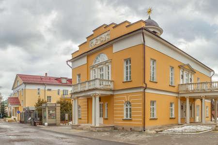 siervo: Nikolay Durasov exterior del edificio del teatro de servidumbre, distrito Lyublino, Mosc�, Federaci�n de Rusia Fue construido en el siglo 18
