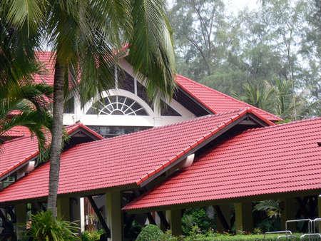Roof Panels Stock Photo