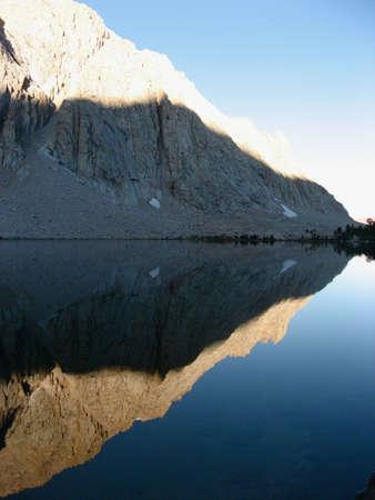 reflection: Mountain Reflection Stock Photo
