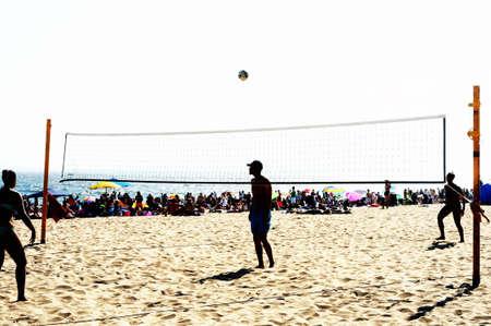 pelota de voley: juego de volleyball.