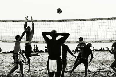 Spel. Volleybal. Mannen.