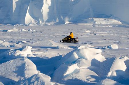 antarctica: exploring antarctica Stock Photo