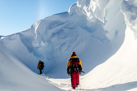 antarctica: Adventures in Antarctica Stock Photo
