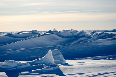 weddell: Antarctic Sea Ice Landscape