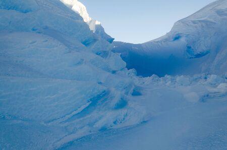 brunt: Inside a Blue Ice Chasm