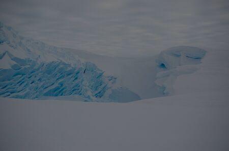 brunt: Alien Ice Landscape. Antarctica