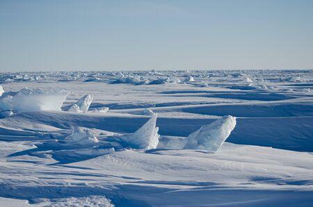 Antarctic Sea Ice Landscape
