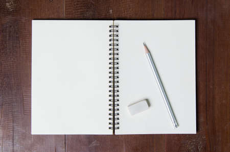 memoirs: use pencil on notebook for memoirs story.