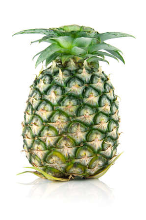 nutriment: pineapple on isolated background , food and fruit