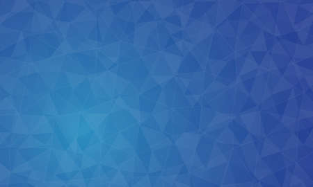 Polygon blue background and texture. abstract design, background template design Ilustrace