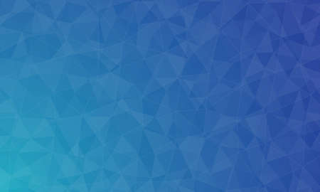 polygon blue background and texture. abstract design, background template design  イラスト・ベクター素材