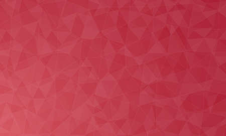 polygon red background and texture. abstract design, background template design  イラスト・ベクター素材