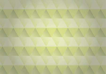 Abstract image of a polygon with yellow background and texture design.