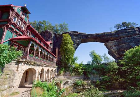 czech switzerland: Bohemian Switzerland National park,also known as Czech Switzerland and region in the north-western Czech Republic