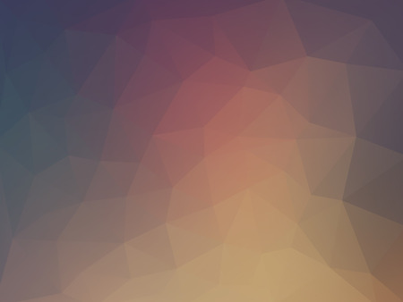 Abstract 2D geometric colorful background flat style