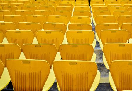 This is a photo of Himachal Pradesh Cricket Stadium Chair at Dharamshala, Himachal Pradesh, India.