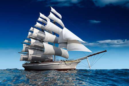Sailboat Stock Photo