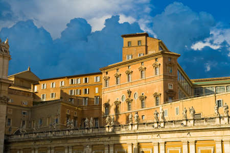 apostolic: Apostolic Palace, also called the Papal Palace or the Vatican Palace - the official residence of the Pope in Vatican