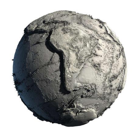 sequ�a: Muertos de planeta de tierra, sin agua, la cat�strofe ecol�gica mundial, una hip�tesis fant�stica del futuro