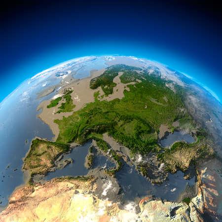 mares: Met�fora de desastre ecol�gico - la desaparici�n del agua, la desecaci�n de los oc�anos y los mares