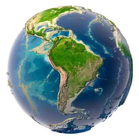 catastrophe: Une catastrophe �cologique de la terre - propose des Oc�ans et des mers  Banque d'images
