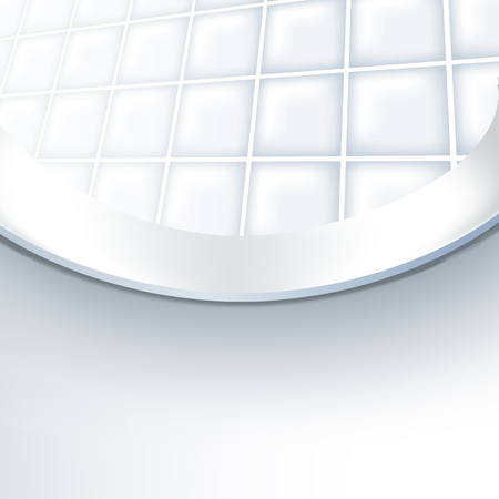 Vector realistic Illustration toilet bowl. View from inside the toilet bowl. Illustration