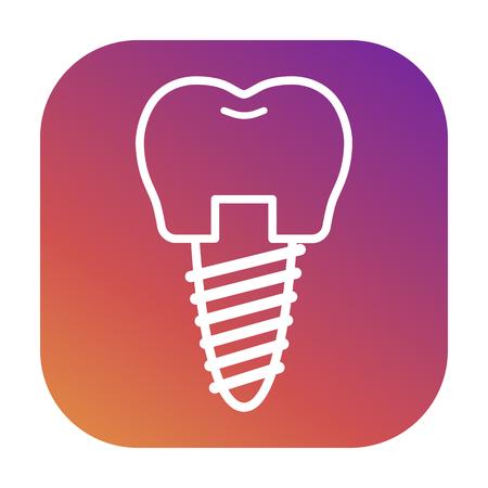 Vector icons for dental clinics, orthodontics, dental implants, orthopedics.