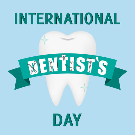 World Dentist Day Campaign Vector Illustration. Great for greeting card, poster and banner