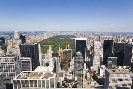 Expansive view of Manhattan and Central park photo