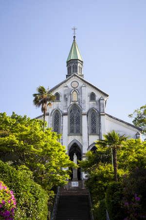 nagasaki: Oura Church, a Roman Catholic Church in Nagasaki, Japan  Editorial