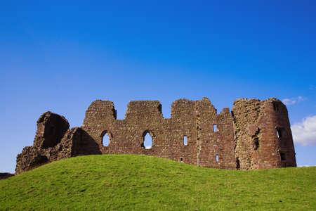 cumbria: Brough Castle in Cumbria, UK